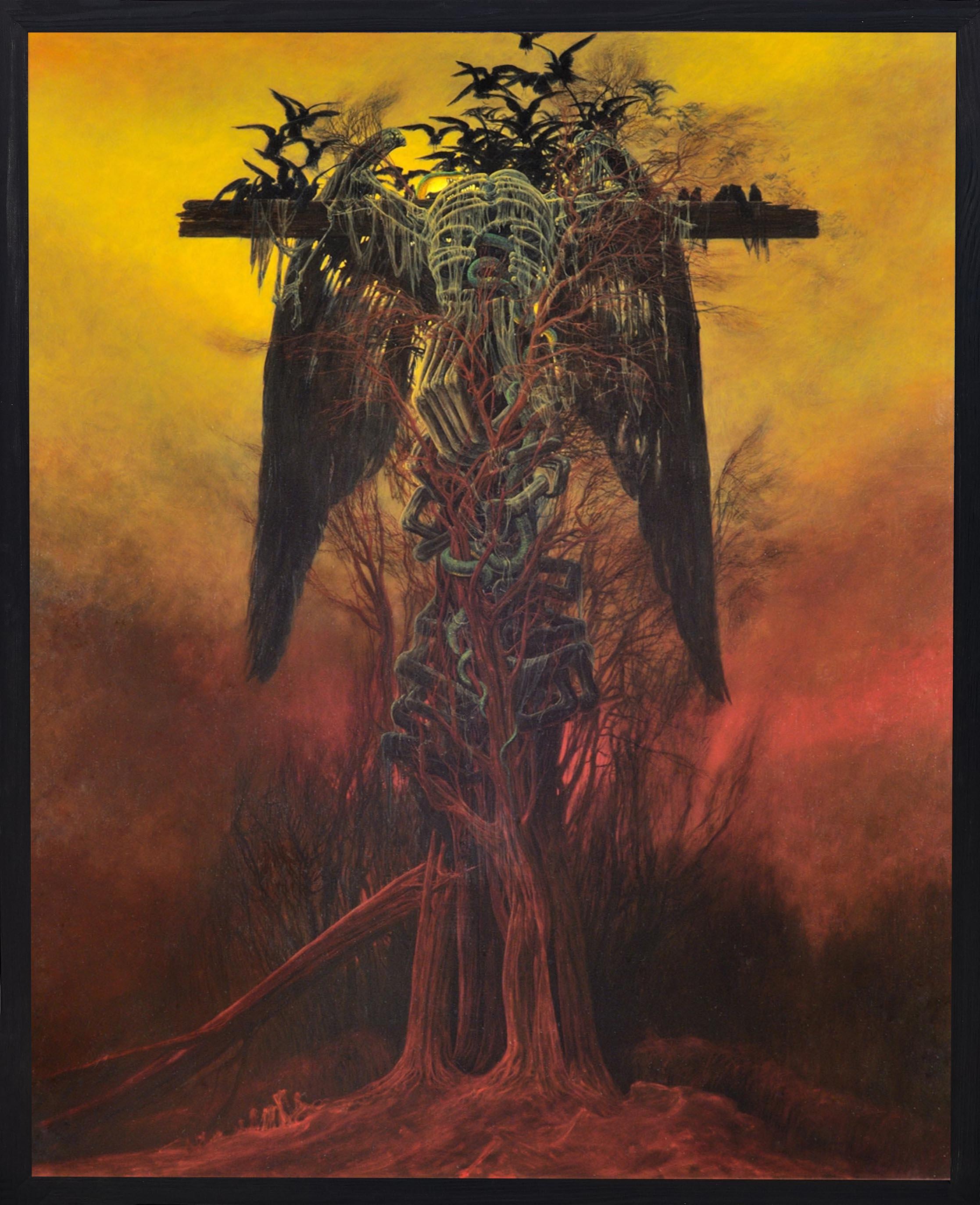 Zdzislaw Beksinski - painting AA76 - BeksStore.com