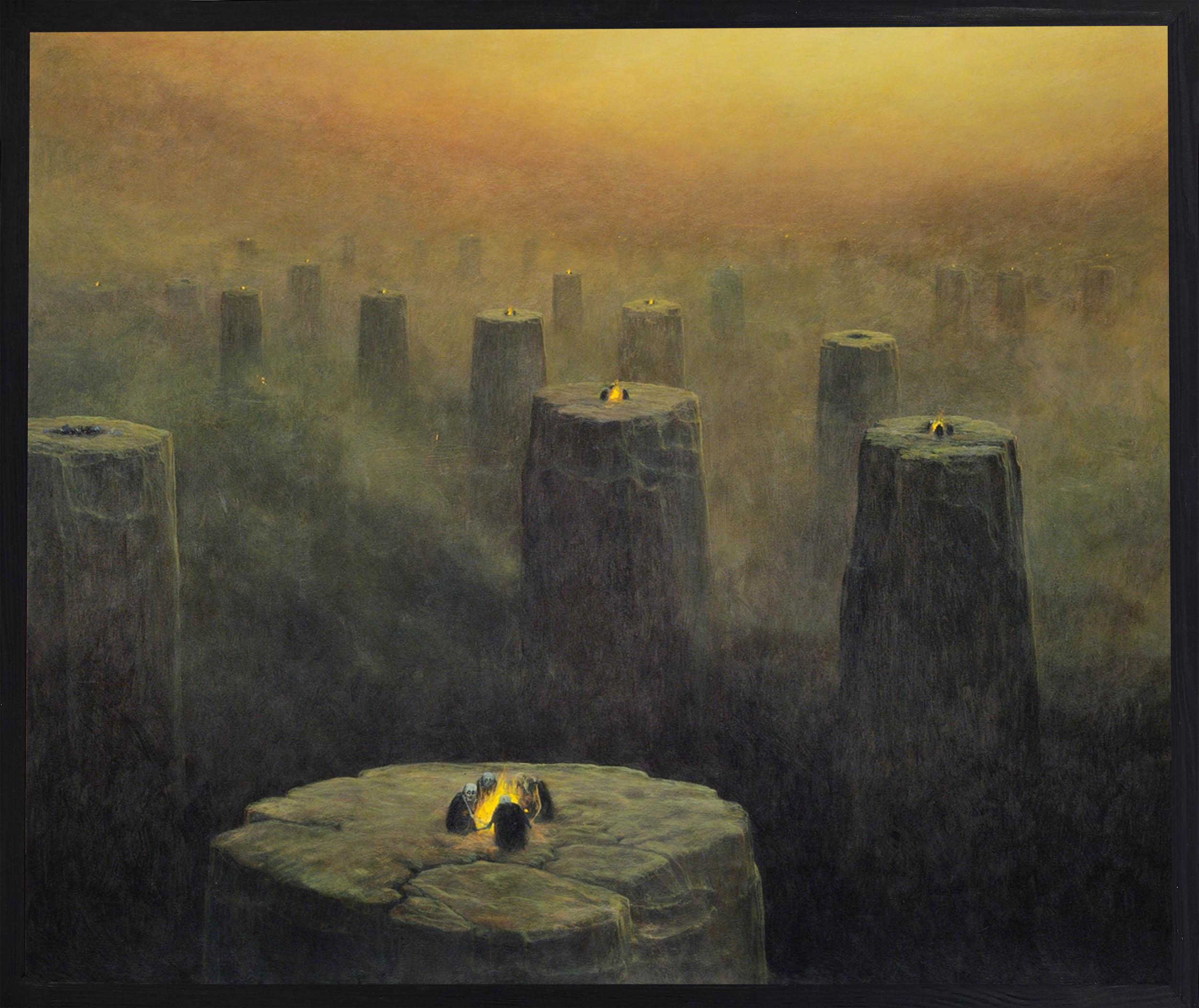Zdzislaw Beksinski - painting AC75 - BeksStore.com