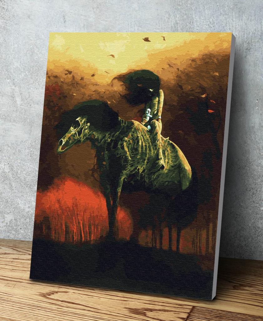 Paint By Numbers Kit Zdzisław Beksiński Aj76 Beksstore Com